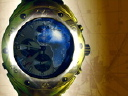 Royalty Free Video of a Globe in a Watch