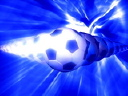 Royalty Free Video of Soccer Balls