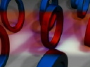 Royalty Free Video of Coloured Rings