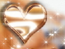 Royalty Free Video of Hearts and Lights