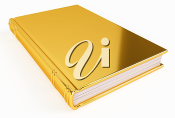 A golden book, made out of gold, containing knowledge of high value.