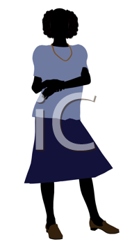 Royalty Free Clipart Image of a Grandmother