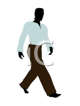 Royalty Free Clipart Image of Frankenstein