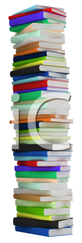 Royalty Free Photo of a Stack of Books