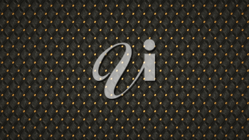 Bumped Alligator skin background with ornament and golden buttons. Useful as pattern