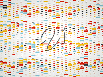 Transportation colorful pictograms and icons background or texture