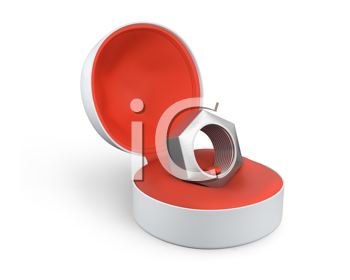 Royalty Free Clipart Image of a Bolt
