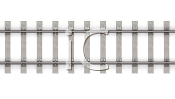 Royalty Free Clipart Image of a Rails