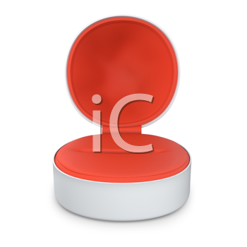 Royalty Free Clipart Image of a Jewellery Box
