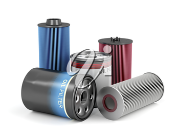 Different types of automotive oil filters