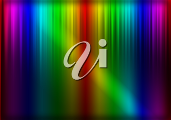 Royalty Free Clipart Image of a Rainbow Colored Background