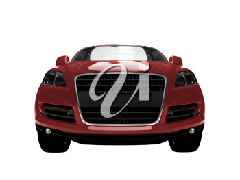 Royalty Free Clipart Image of an Audi SUV