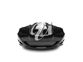 Royalty Free Clipart Image of a BMW