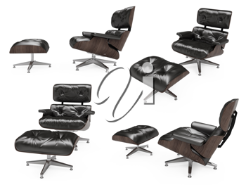 Royalty Free Clipart Image of Chairs