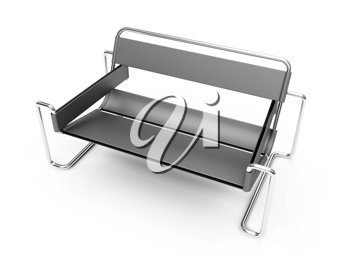 Royalty Free Clipart Image of a Bench