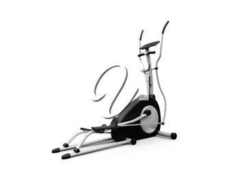 Royalty Free Clipart Image of an Elliptical