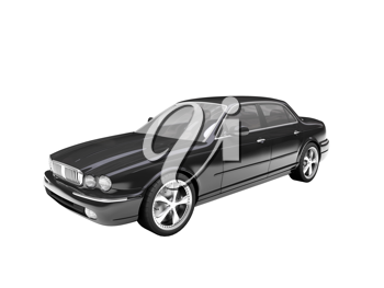 Royalty Free Clipart Image of a Jaguar
