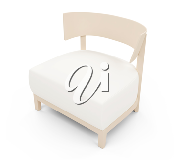 Royalty Free Clipart Image of a Chair