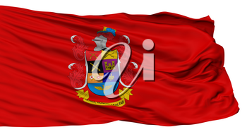 National Army Of Colombia Flag, Isolated On White Background, 3D Rendering