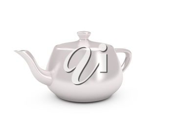 Royalty Free Clipart Image of a Teapot