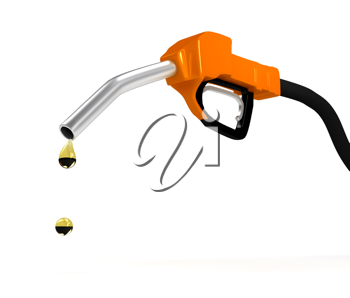 Royalty Free Clipart Image of a Gas Pump