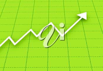 Royalty Free Clipart Image of a Chart