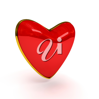 Royalty Free Clipart Image of a Heart