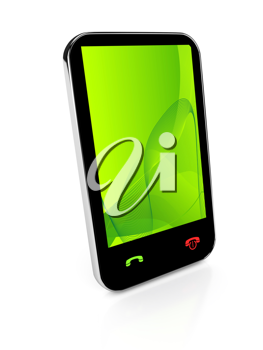 Royalty Free Clipart Image of a Cellphone