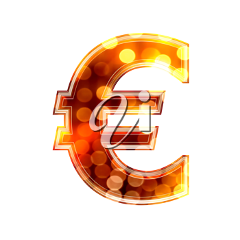 Royalty Free Clipart Image of a Erou Sign