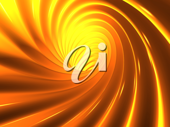 Royalty Free Clipart Image of an Abstract Vortex