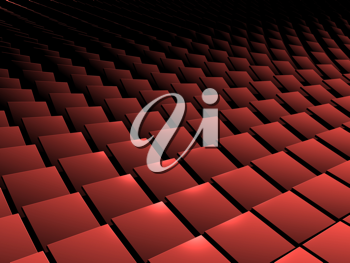 3d picture with square pattern
