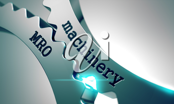 Machinery MRO on the Mechanism of Metal Gears.