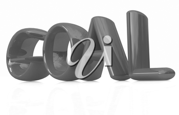 The word Goal on a white background