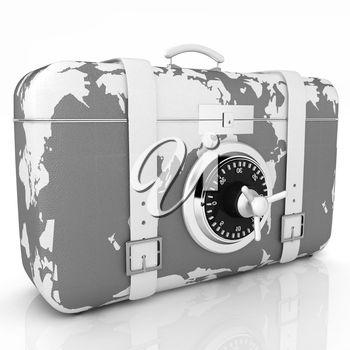 suitcase-safe for travel
