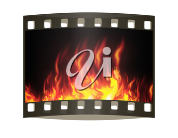 fire. The film strip