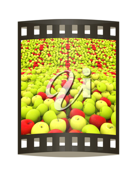 apples background
