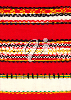 Russian national embroidery.