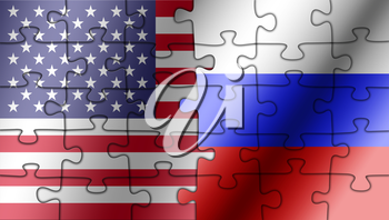 USA Russia cooperation puzzle